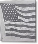 50 Stars 13 Stripes Metal Print