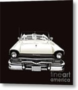 50s Ford Fairlane Convertible Metal Print
