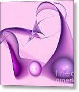 Colorful Abstract Forms Metal Print
