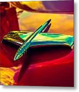 53 Kaiser Hood Ornament Metal Print