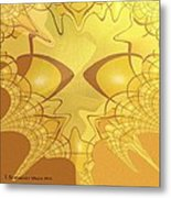 547 - All That Gold Metal Print