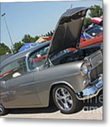 55 Bel Air-8206 Metal Print