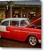 55 Chevy Belair Metal Print