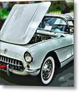 '56 Corvette Metal Print