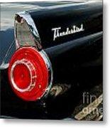 56 Ford Thunderbird Metal Print