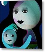 569 - Moonmotherchild Metal Print