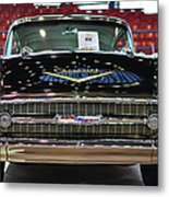 '57 Chevy Bel Air Show Car Metal Print
