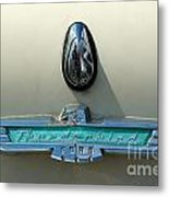 57 Ford Thunderbird  Metal Print