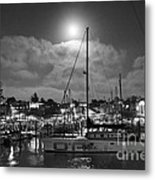 570 Bw The Sea Odessy                                      In Monochome 2 Metal Print