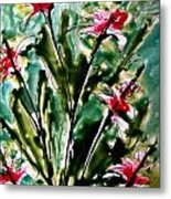 Heavenly Flowers Metal Print
