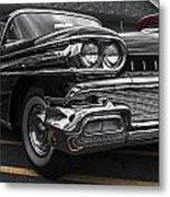 58oldsmobile Super 88 Headlights Metal Print