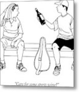 Care For Some Sports Wine? Metal Print by Alex Gregory