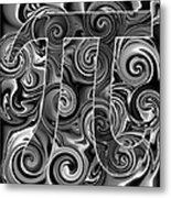 5Pi Metal Print by Ron Hedges