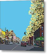 5th Ave And Garfield Park Slope Brooklyn Metal Print