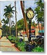 5th Avenue Naples Florida Metal Print
