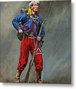 5th New York Veteran Volunteers - Duryee's Zouaves 1864 Metal Print