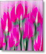 6 1/2 Flowers Metal Print