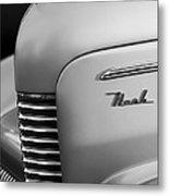 1940 Nash Sedan Grille  Metal Print