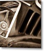 1966 Ferrari 275 Gtb Steering Wheel Emblem Metal Print