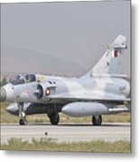 A Qatar Emiri Air Force Mirage 2000 Metal Print