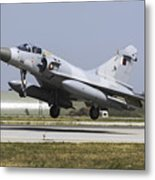 A Qatar Emiri Air Force Mirage Metal Print