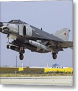 A Turkish Air Force F-4e-2020 Metal Print