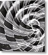 Abstract Pattern Metal Print