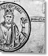 Alfred The Great (849-899) Metal Print