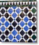 Alhambra. Spain. Granada. Alhambra Metal Print