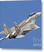 An F-15i Raam Of The Israeli Air Force Metal Print