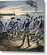 Battle Of Long Island, 1776 Metal Print