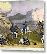Battle Of Monterrey, 1846 Metal Print