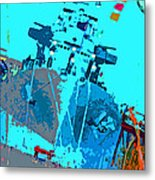 Battleship North Carolina Metal Print