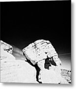Beehives Sandstone Formations In Valley Of Fire State Park Nevada Usa Metal Print