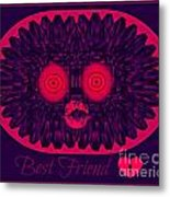 Best Friend Metal Print