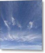 Big Blue Sky Metal Print