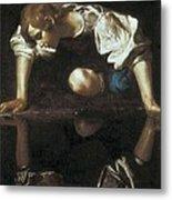 Caravaggio, Michelangelo Merisi Da Metal Print