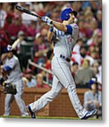 Chicago Cubs V St. Louis Cardinals Metal Print