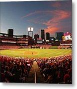 Cincinnati Reds V St Louis Cardinals Metal Print