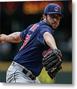 Cleveland Indians V Seattle Mariners Metal Print
