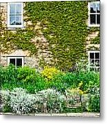 Cottage Garden Metal Print by Tom Gowanlock