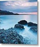 Blue Crete. Metal Print