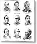 Electoral Commission, 1877 Metal Print