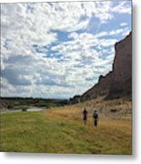 Exploring Big Bend National Park Metal Print