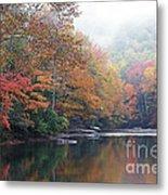Fall Color Williams River Metal Print