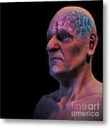 Geriatric Brain Metal Print