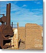 Harmony Borax Works Death Valley National Park Metal Print