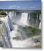 Iquazu Falls - South America Metal Print
