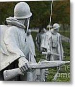Korean War Memorial Metal Print
