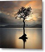 Loch Lomond Sunset Metal Print